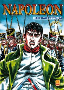 Couverture Napoléon Hasegawa Tetsuya éditions Kami