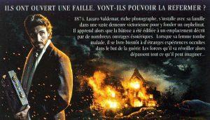 Jaquette Le secret des Valdemar