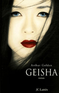 Couverture Geisha Arthur Golden JC Lattès