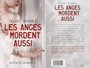 Couverture Les anges mordent aussi Sophie Jomain J'ai Lu