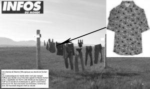 Infos du Monde la chemise de Gillio