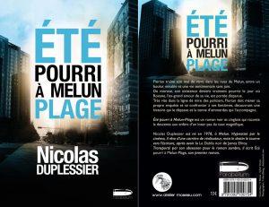 Couverture Eté pourri à Melun plage Nicolas Duplessier L'atelier Mosésu