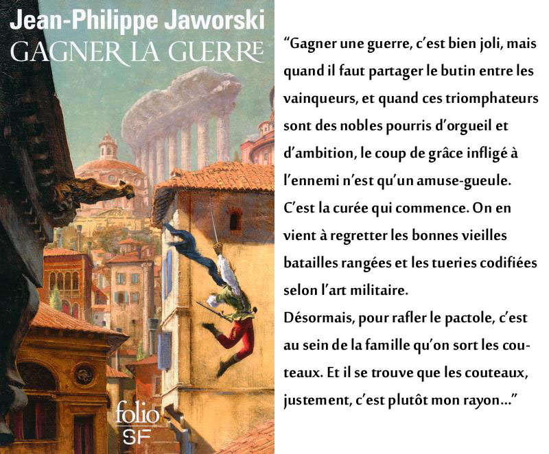 Couverture Gagner la guerre Jean-Philippe Jaworski
