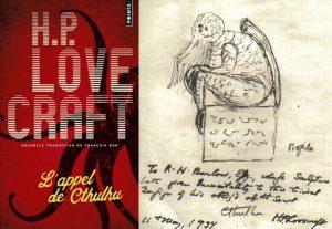 L'appel de Cthulhu Lovecraft pieuvre