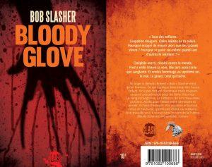 Couverture Bloody Glove Bob Slasher Atelier Mosésu Marc Falvo