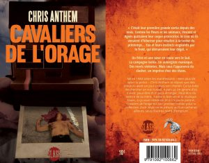 Couverture Cavaliers de l'Orage Chris Anthem