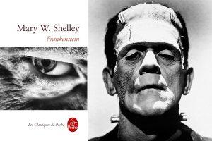 Frankenstein Mary Shelley Boris Karloff
