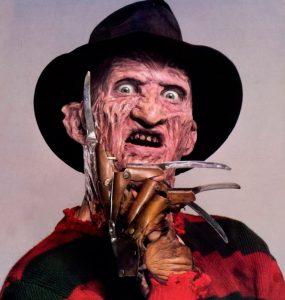 Freddy Krueger Tire mon doigt
