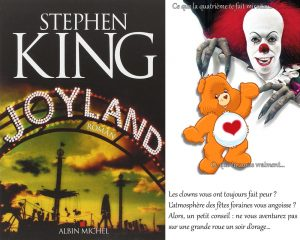 Couverture Joyland Stephen King Albin Michel