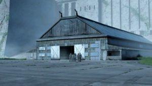 Base secrète hangar abandonné