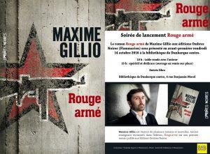 Avant-première et interview Rouge armé Dunkerque