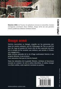 Rouge armé Maxime Gillio quatrième de couverture