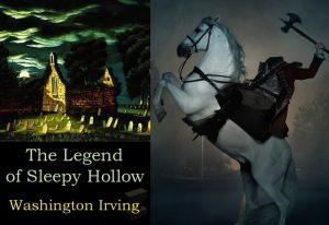 Sleepy Hollow Washington Irving Cavalier sans tête