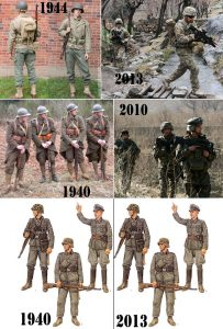 Uniformes Seconde guerre mondiale