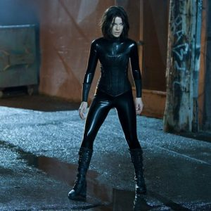 Kate Beckinsale en latex dans Underworld