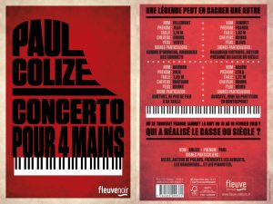 Couverture Concerto pour 4 mains Paul Colize