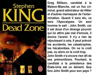 Couverture Dead Zone Stephen King