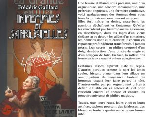 Couverture Infemmes et Sangsuelles Frédéric Gaillard Lune écarlate