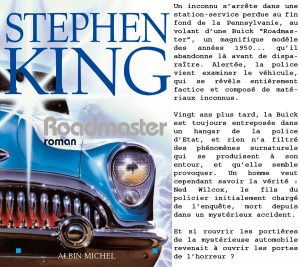 Couverture Roadmaster Stephen King Albin Michel