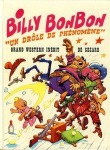 Couverture Billy Bonbon Un drôle de phénomène Cézard