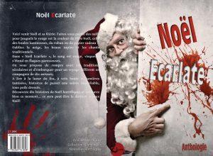 Couverture Noël écarlate recueil de nouvelles