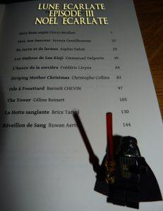 Table des matières Noël écarlate