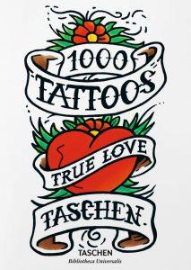 Couverture 1000 Tattoos Taschen Henk Schiffmacher