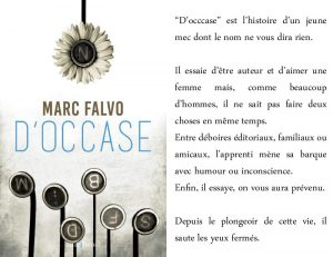Couverture D'occase Marc Falvo