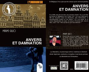 Couverture Anvers et damnation Maxime Gillio L'atelier Mosésu collection Embaumeur