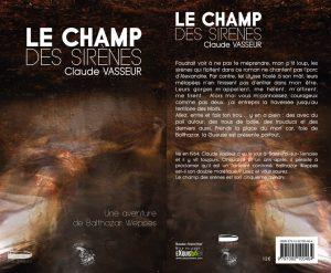 Couverture Le champ des sirènes Claude Vasseur L'atelier Mosésu