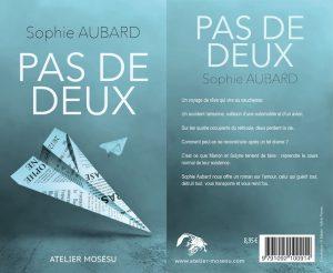 Couverture Pas de deux Sophie Aubard L'atelier Mosésu