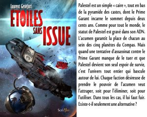 Couverture Etoiles sans issue Laurent Genefort