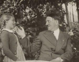 Smiling Pedobear Adolf Hitler