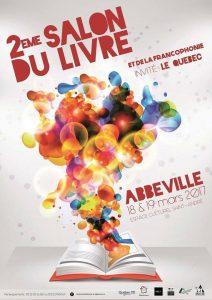 Salon du livre Abbeville 2017 affiche
