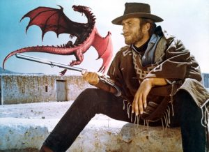 Clint Eastwood dragon