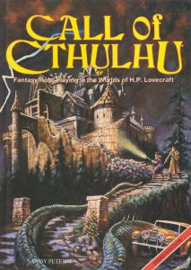 Couverture L'Appel de Cthulhu Sandy Petersen
