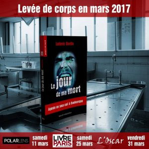 Affiche Le jour de ma mort Ludovic Bertin