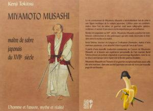 Couverture Miyamoto Musashi Maître de sabre japonais Tokitsu Kenji