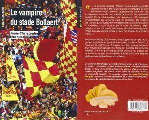 Couverture Le vampire du stade Bollaert Jean-Christophe Macquet