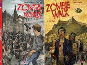 Couverture Zombie Walk Giuseppe Manunta