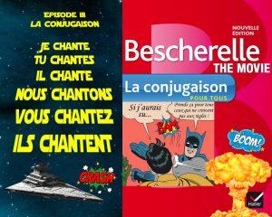 Détournement Bescherelle le film par Un K à part