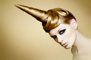 Coupe de cheveux licorne