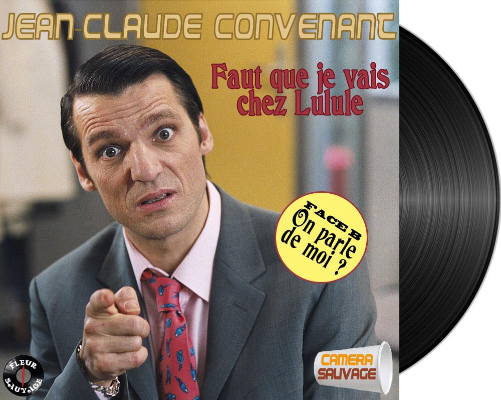 Détournement Jean-Claude Convenant par Un K à part