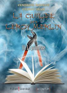 Détournement de couverture La Guilde des Leroy Merlin Cendrine Nougué Cédric Cham par Un K à part