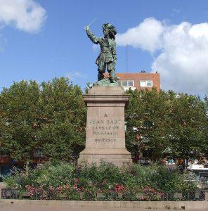 Statue de Jean Bart Dunkerque