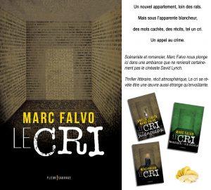 Couverture Le Cri Marc Falvo Fleur sauvage