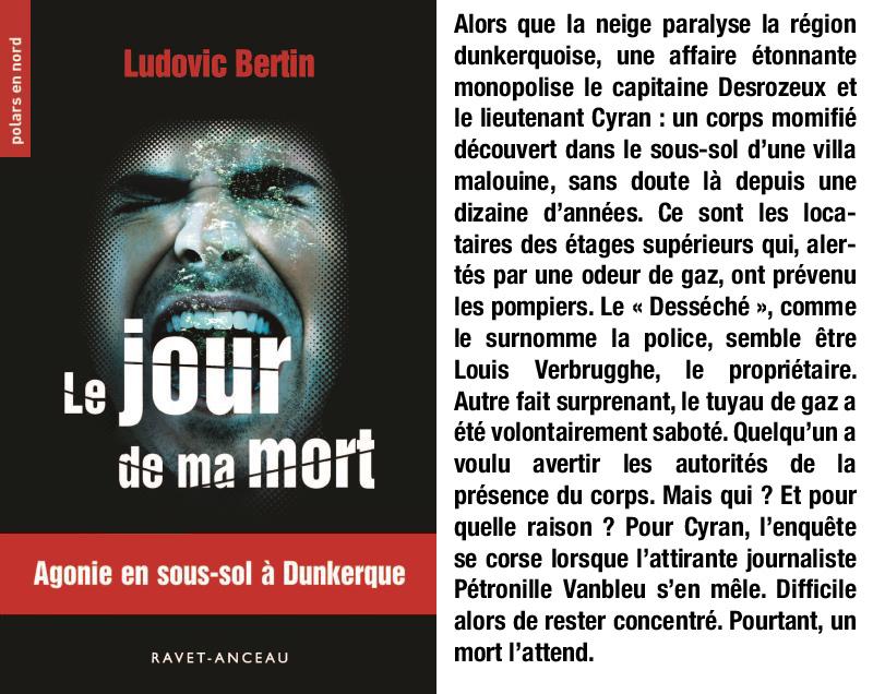 Le Jour De Ma Mort Ludovic Bertin Un K A Part