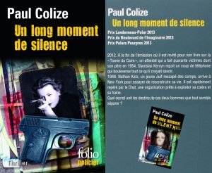 Couverture Un long moment de silence Paul Colize Folio