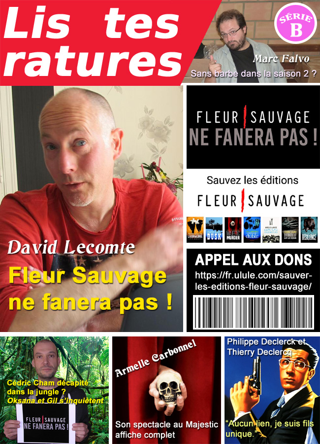 Lis tes ratures magazine people par Un K à part