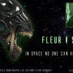 Détournement Fleur Sauvage Alien par Un K à part